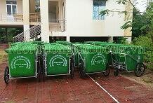 Cung cấp thùng rác xây dựng nông thôn mới ở các xã