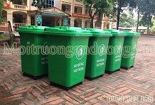 Bán thùng rác nhựa HDPE giá rẻ tại Hà Nội