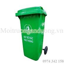 Xả kho thùng rác nhựa HDPE 120 lít giá rẻ nhất thị trường