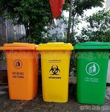 Bàn giao, lắp đặt thùng rác công cộng tại Yên Bái