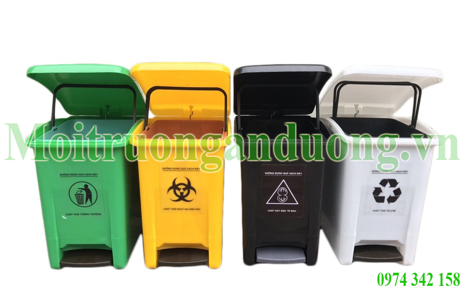 Bán thùng đựng chất thải, thùng rác y tế và thiết bị thu gom rác tại Hà Nội